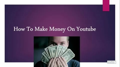 make money on YouTube easily and simple.