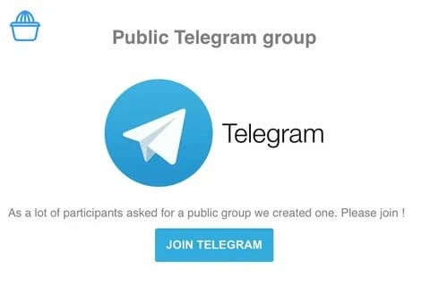 Telegram public groups and the use of them