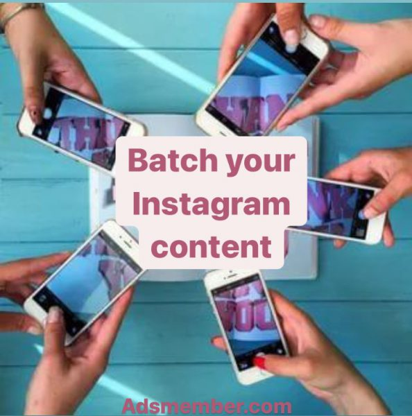 Batch your Instagram content doesn't have to be that way