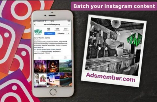 WHAT IS BATCHING INSTAGRAM CONTENT?