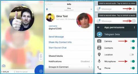 TOP 5 benefits of video calls and video message in Telegram